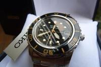 Brand New Seiko Fifty Five Fathoms FFF Dive Watch Mod Dagaz Dial Automatic SNZH