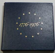 Empty Box 1976 U.S. Mint Silver Proof 3 Coin Set - Box    ##  NO COINS  ##