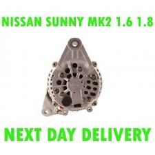 Nissan sunny mk2 1.6 1.8 16V 1987 1988 1989 - 1991 alternator 12 month warranty