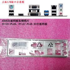 Original IO I/O Shield Back Plate Bracket for ASUS H110I-PLUS、H110I-PLUS D3