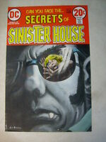 SECRETS of SINISTER HOUSE #9 COVER ART original approval cover proof 1970's