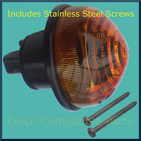 Land Rover Defender Rear Indicator Light Unit + Stainless Steel Screws From 1994