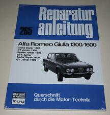 Reparaturanleitung Alfa Romeo Giulia / GT Junior / GTA / Spider 1300 + 1600