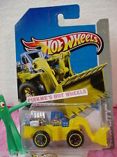 Case A/B 2013 i Hot Wheels WHEEL LOADER  #44/250∞Blue & Yellow  ∞HW City