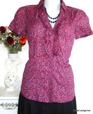 ♥ ESPRIT ♥ Bluse Shirt - size M 38 MILLE FLEUR- Rüschen -  Baumwolle cotton NEU