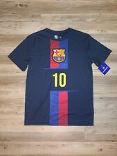 Men's FC Barcelona Messi 10 Jersey Shirt Size Small
