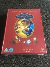 Beauty and the Beast Diamond Edition DVD and Book Limited Brand New Sealed