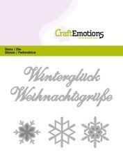 CraftEmotions Stanzschablone Winterglück 0407