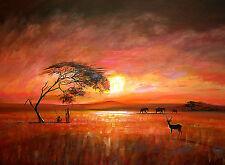 "Beautiful Matt Framed Painting By Dreamzdecor- 11"" x 15"" Size."