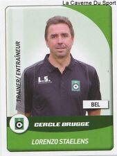 N°025 STAELENS # BELGIQUE CERCLE BRUGGE MOUSCRON STICKER PANINI PRO LEAGUE 2015