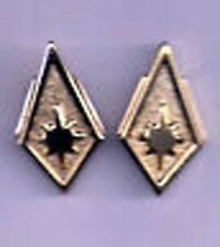 Battlestar Galactica Lt Colonel Uniform Rank Pips/Pin Set of 2-(Bgpi-24)