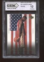 Lebron James RC 2003-04 Upper Deck Box Set #23 Rookie GEM Elite 10 Pristine
