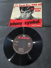 Disque 45 tours Johnny Cymbal - Mr. Bass Man - 214020 (TBE - VG)