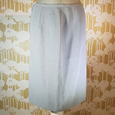 Corelli Women's Gray Pencil Skirt Made In USA Size 14 Career Wear Professional