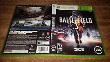 BATTLEFIELD 3 III DICE EA MICROSOFT XBOX 360 EX+NM CONDITION COMPLETE!