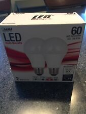 FEIT LED Multi-Use A19 Bulb 60W Replacement 9.5W Soft White 800 Lumens 2pack