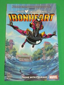 Ironheart Vol 1 Those With Courage Marvel Graphic Novel Comic SOFTCOVER IRON MAN
