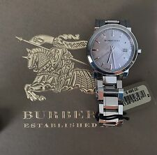 Burberry BU9143 The City Silver tone Stainless Steel Ladies Watch 34mm