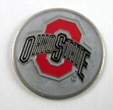 5 NCAA Collegiate Golf Ballmark Ballmarker ballmark Ohio State Buckeyes Silver