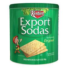 Crackers Keebler Export Sodas  28 Oz Tin 793G