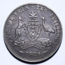 1926 Australia One 1 Florin - George V - Lot 63