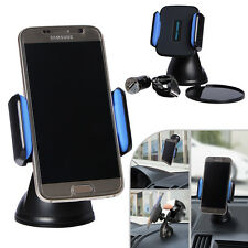Xtra-Funky Range Wireless Qi In-car Phone Holder / Desk Top Charger Stand With 1