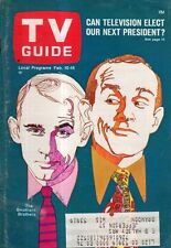 1968 TV Guide February 10 - Smothers Brothers; Robert Hooks is a Negro; C. Brown