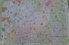Oakland County South 27 x 39 Laminated Wall Map (G)