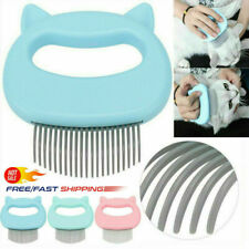 Shell Needle Comb Pets Cat Dog Massage Comb Hair Removal Open Knot Brush USA