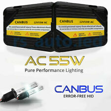 H7 KIT 55W AC HID XENON CONVERSION CANBUS 6000K MERCEDES CLS W219 2004-2010