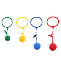 4pcs Skip Ball Jumping Ball Outdoor Fun Toy Fitness Equipment for Kids Adult