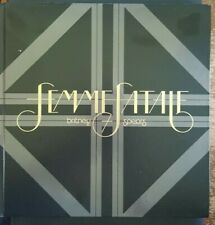 Britney Spears - Femme Fatale Deluxe Hardcover Version - Rare