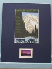 Honoring Mount Rainier National Park honored by its new stamp issued in 2016