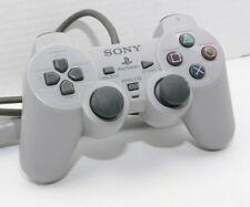 Original Sony PlayStation 1 Controller Analog Gamepad Grey SCHP 1200  Good Used
