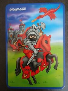 ✮ Playmobil RITTER Puzzle in Metall-Box ✮ 40 Teile ✮ Schmidt ✮ Alter 4+ ✮