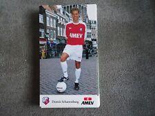 DENNIS SCHARRENBURG - FC UTRECHT - very rare - 10x17cm AUTOGRAPHCARD *