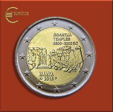 """2 Euro € Gedenkmünze Malta 2016 """" Ggantija  """" mit Mzz der MdP , Einzelstück"""