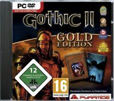 Gothic 2 II Gold Edition PC Orks Feuermagier, Paladine, Söldner und Bauern Neu