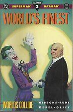 SUPERMAN/BATMAN N°2  : WORLD'S FINEST (albo ORIGINALE Americano)