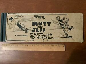 Vintage 1914 ~Mutt  and Jeff Cartoons, by Bud Fisher ~ Book 3