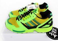 Adidas Originals x Atmos ZX8000 G-SNK 3 Neon Solar Green Black UK 5 9 10 US New