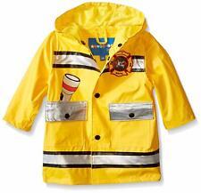 Wippette Baby Boys' Fireman Rainwear, Gold, 18M