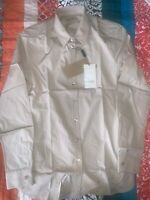 NEW Burberry Stone Stretch Cotton Long Sleeve Shirt $305.00