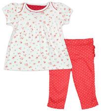 Conjuntos de ropa multicolor 100% algodón para niñas de 0 a 24 meses