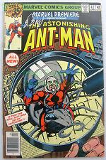 Marvel Premiere #47 SIGNED Boy Layton 1st Appear Scott Lang Ant-Man Key Issue