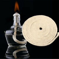 3M Long Cotton Wick Burner For Oil Kerosene Alcohol Lamp Torch Wine Bottle New