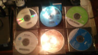 Lot of 7 CD's Drivers, Printers, Windows 2000, disks only