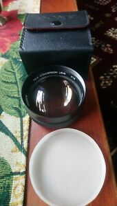 Sony VCL-1558A 1.5x Tele Conversion Lens For 58mm Filter Ring and case