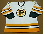 1992/93 PROVIDENCE BRUINS Game Worn Used Jersey - GREAT Wear - FIGHTER - 187 PM