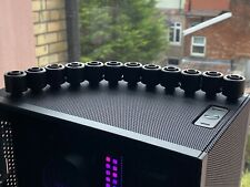 More details for ek-quantum torque black stc 10/16mm compression fitting - soft tubing ekwb